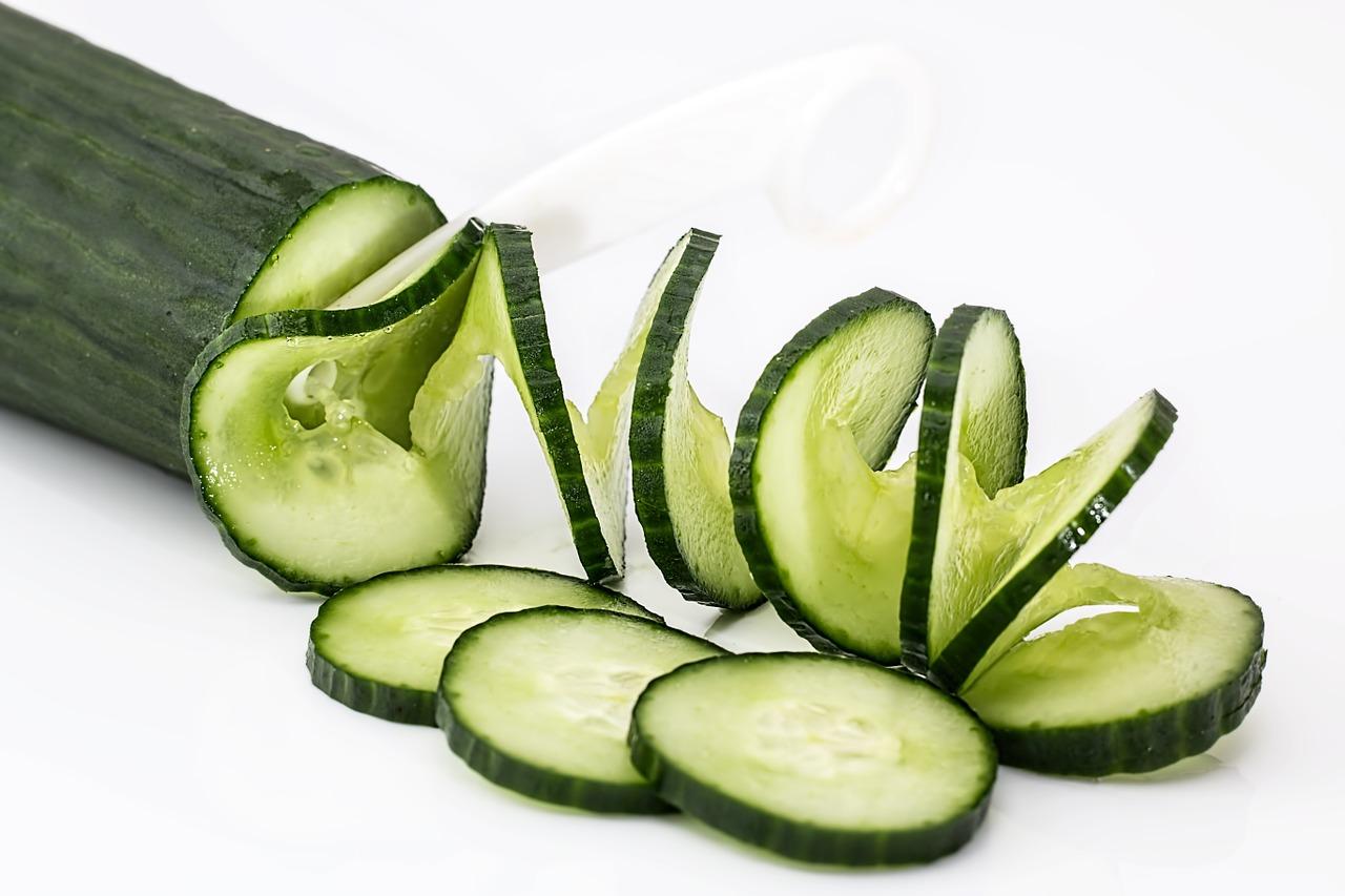<b>6. Ogórek</b> <br>Zielony ogórek jest najczęściej konsumowanym warzywem w...