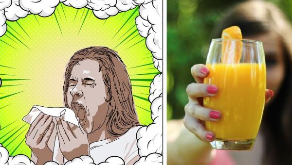 Ten napój pomaga ulżyć przy katarze siennym, a dodatkowo jest przepyszny!