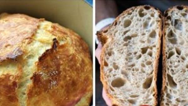 Chleb bez wyrabiania i praktycznie bez żadnego wysiłku? Gdy zrobiłam go po...