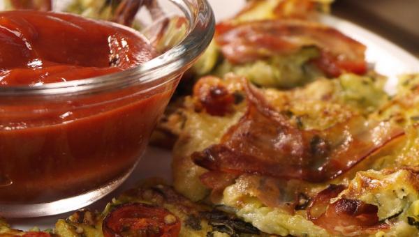 Pizza z cukinii i sera