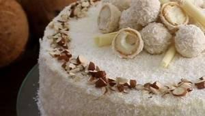 Torcik kokosowy bez masła - ten przepis jest prosty, a ciasto znakomite! Warto z